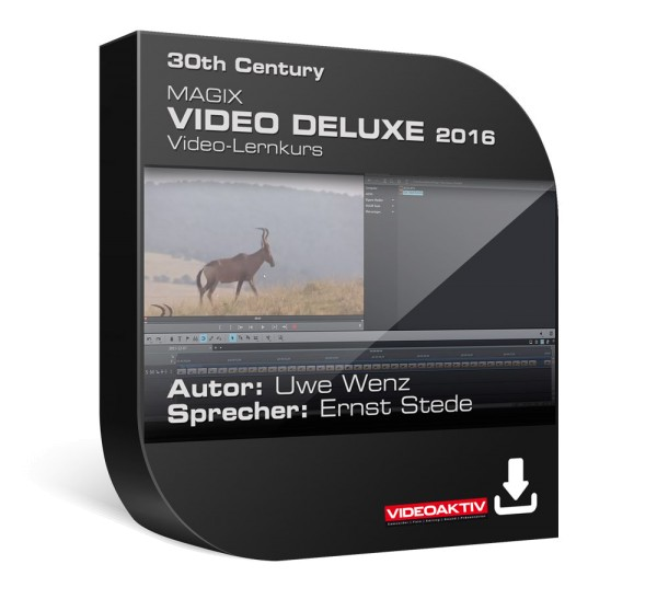 Magix Video deluxe 2016 Lernkurs Vol. 1
