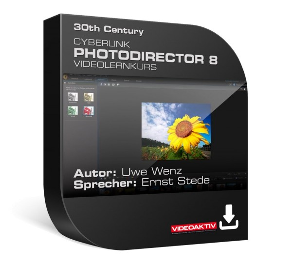 CyberLink PhotoDirector 8 - Videolernkurs