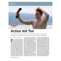 Test: Actioncam Mikrofon Sennheiser MKE 2 elements