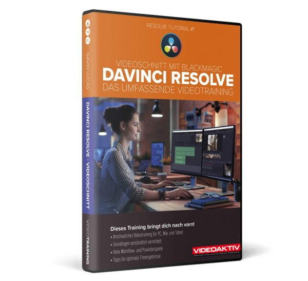 DaVinci Resolve Training 1 - DVD-Version