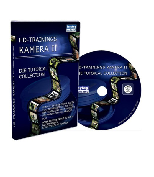 Tutorial DVD HD-Trainings Kamera II