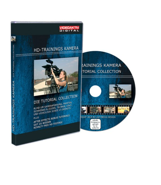 Tutorial DVD HD-Trainings Kamera