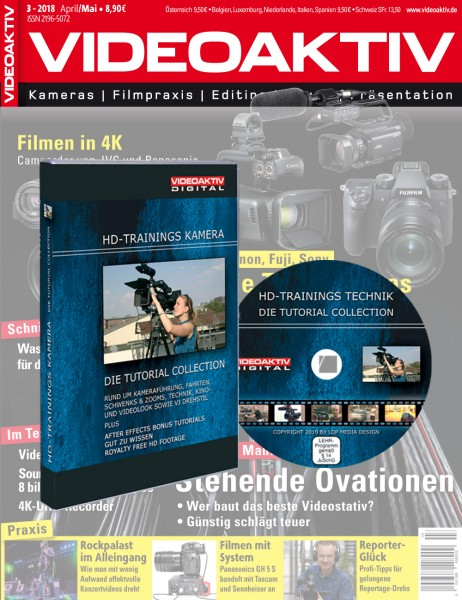 DVD HD-Training Kamera