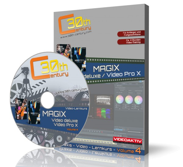 MAGIX Video deluxe & MAGIX Pro X - Praxis-Workshops Vol. 4