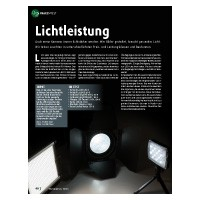 Test: 8 LED-Videoleuchten