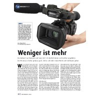 Test: Panasonic HC-X 1000 E