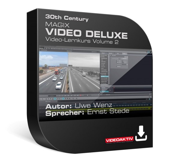 Magix Video Deluxe 2016 Lernkurs, Vol. 2