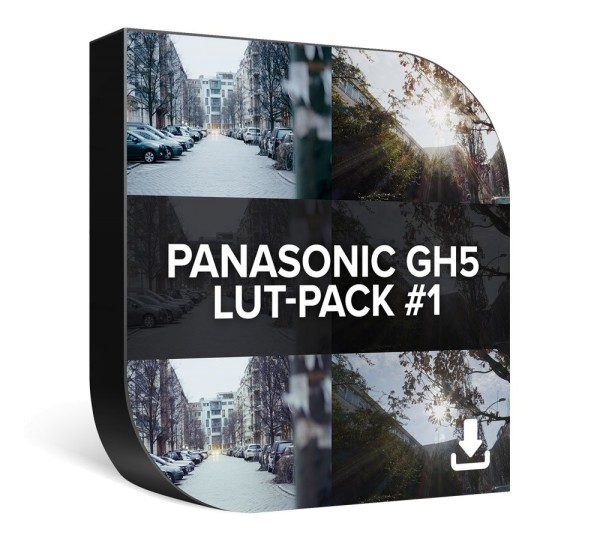 Panasonic GH5 LUT-Pack 1