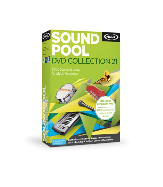 Magix Soundpool Collection 21 als Aboprämie