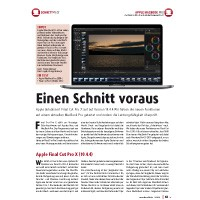 Test: Apple MacBook Pro, Final Cut Pro X