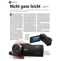 Test: Sony HDR-CX 405
