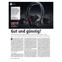 Ton-Test: Fostex TH-7, Teufel Real Blue, Teufel Real Pure