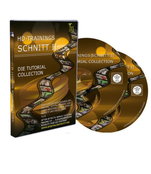 Tutorial DVD HD-Trainings Schnitt II