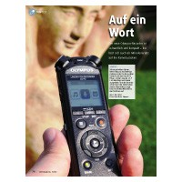 Test: Mini-Recorder Olympus LS-P 2
