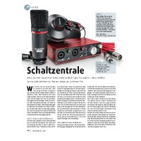 Ton-Test: Audio-Interfaces von ESI, Focusrite, Tascam und Zoom