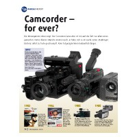 Report: Camcorder - for ever?